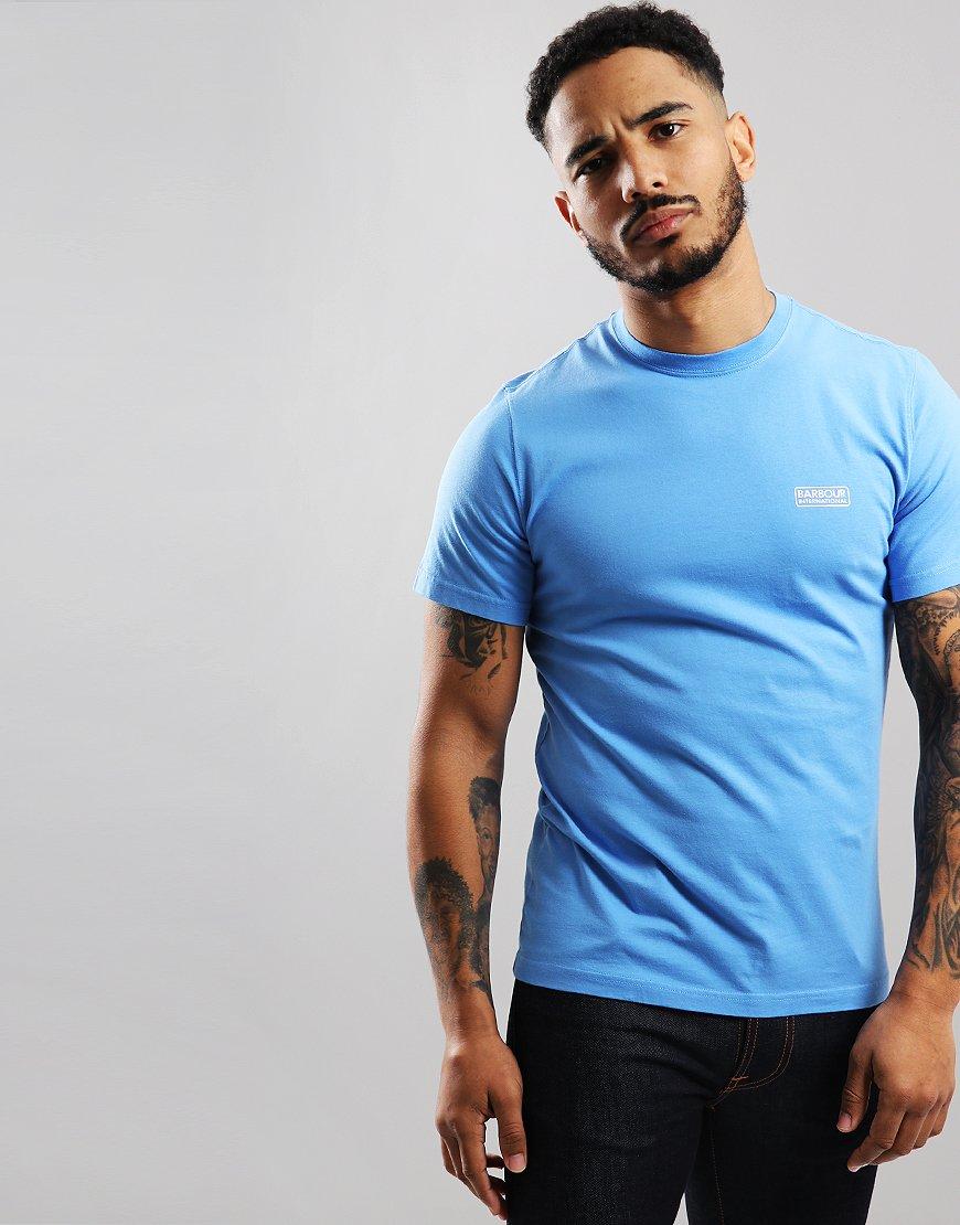 Barbour International Small Logo T-Shirt Vivid Blue