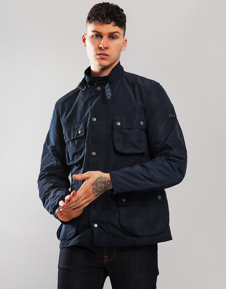 Barbour International Weir Jacket Navy