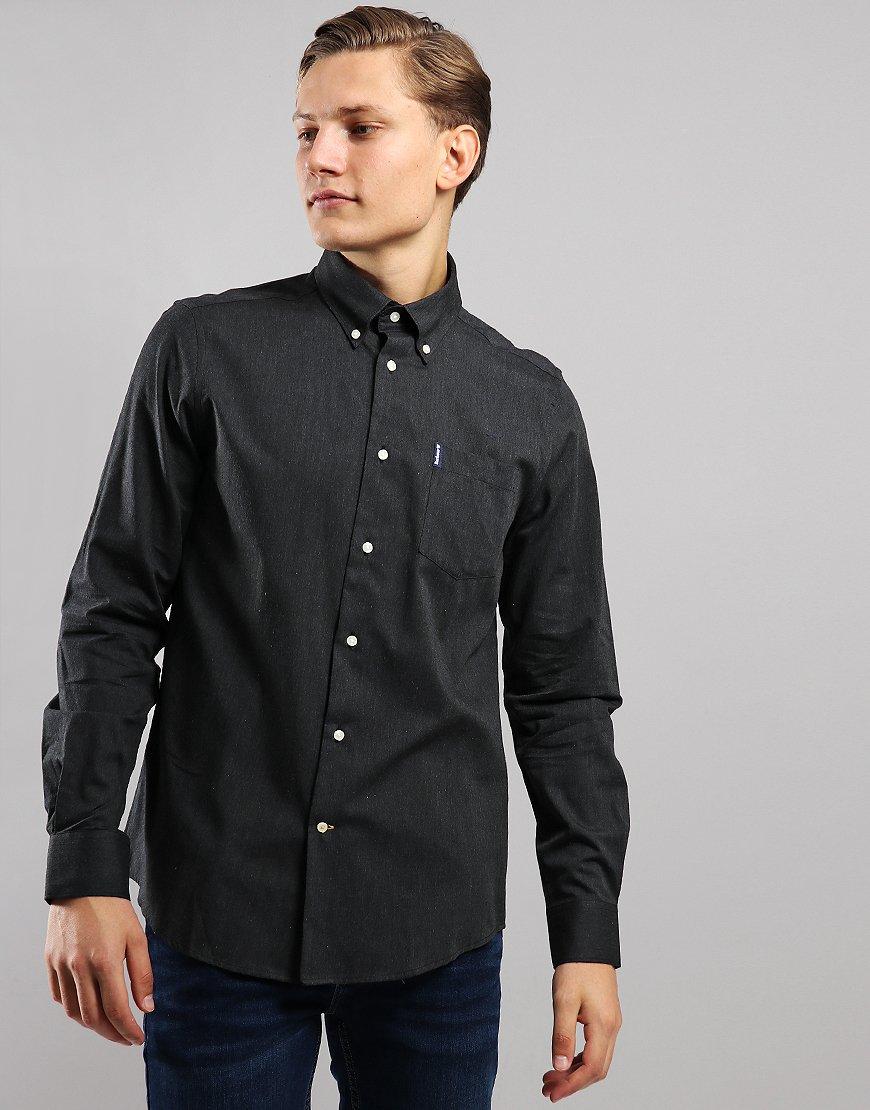 Barbour Lambton Long Sleeve Shirt Charcoal