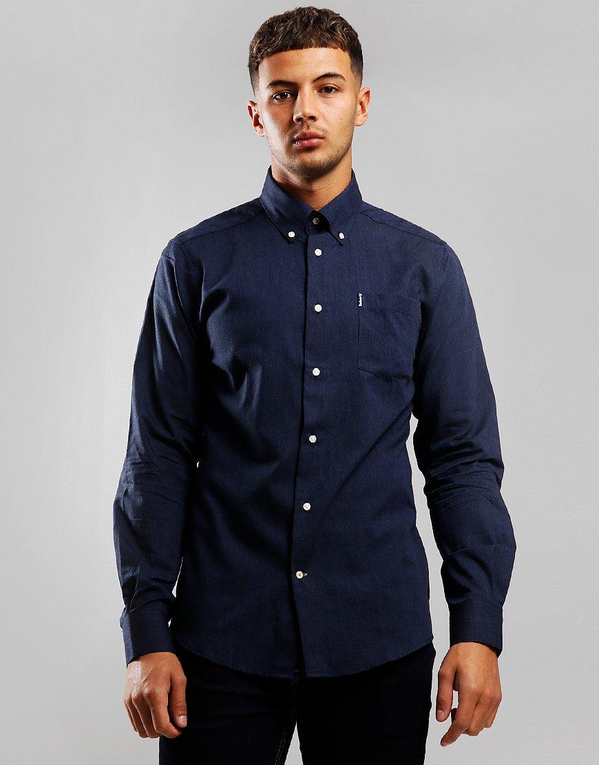 Barbour Lambton Long Sleeve Shirt Navy