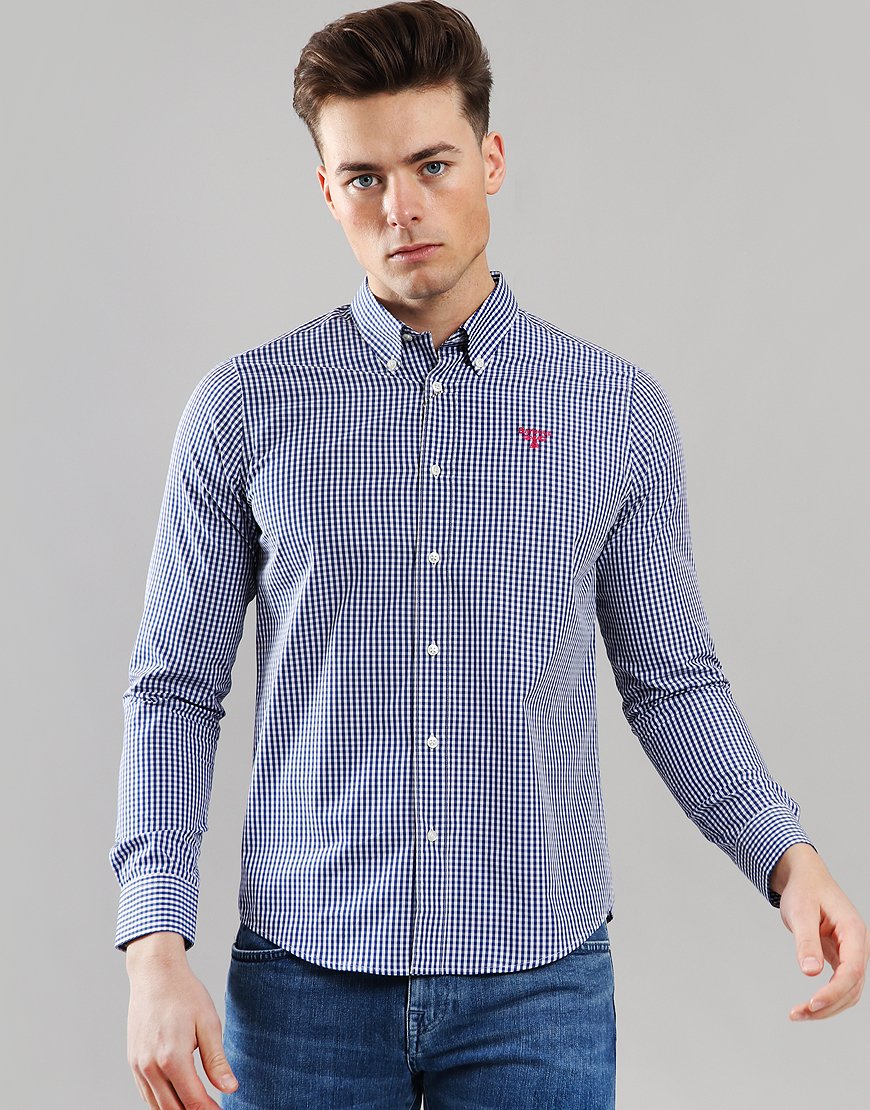 Barbour Beacon Lowther Shirt Regal Blue
