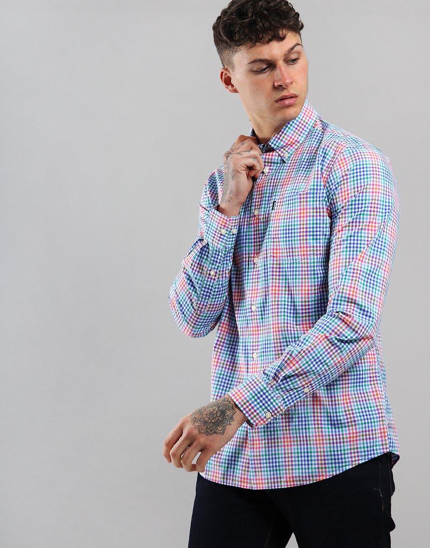 Barbour Tattersal 3 Long Sleeve Shirt Pink