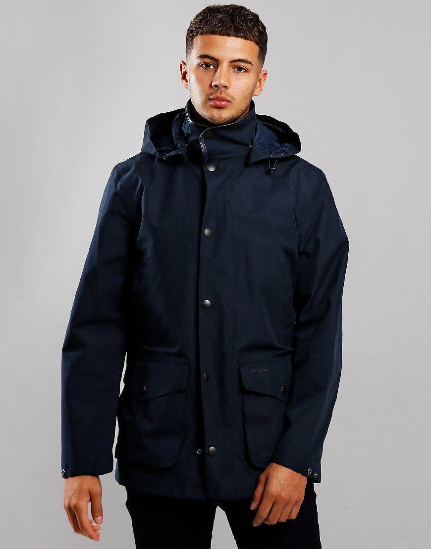 Barbour Mallaig Waterproof Jacket Navy