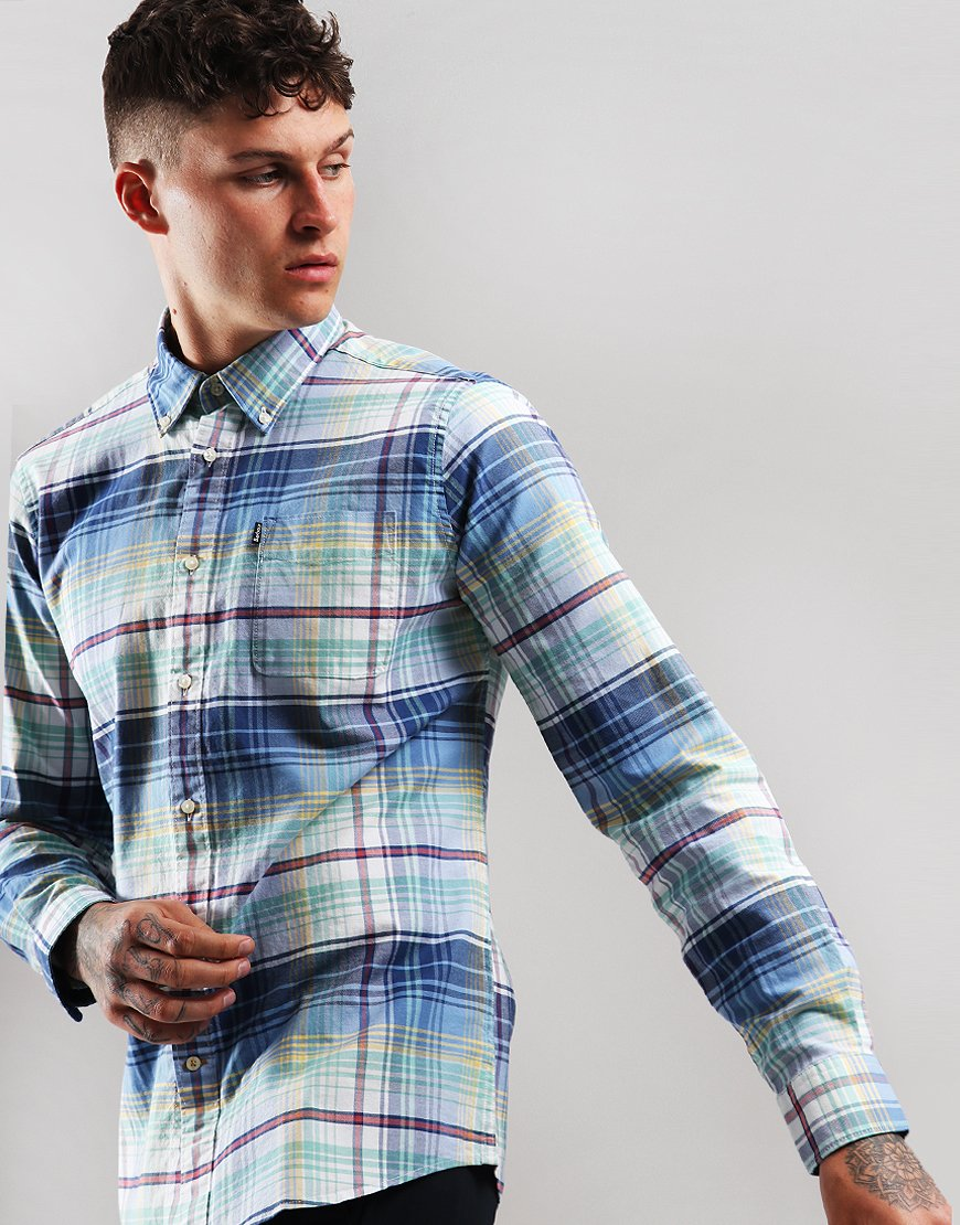 Barbour Oxford Check 2 Long Sleeve Shirt Mint