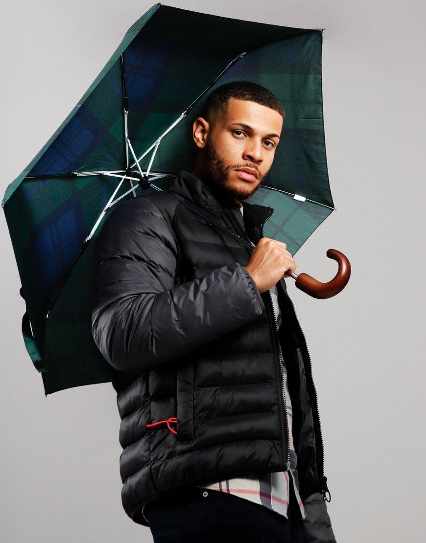 Barbour Mini Umbrella  Black Watch