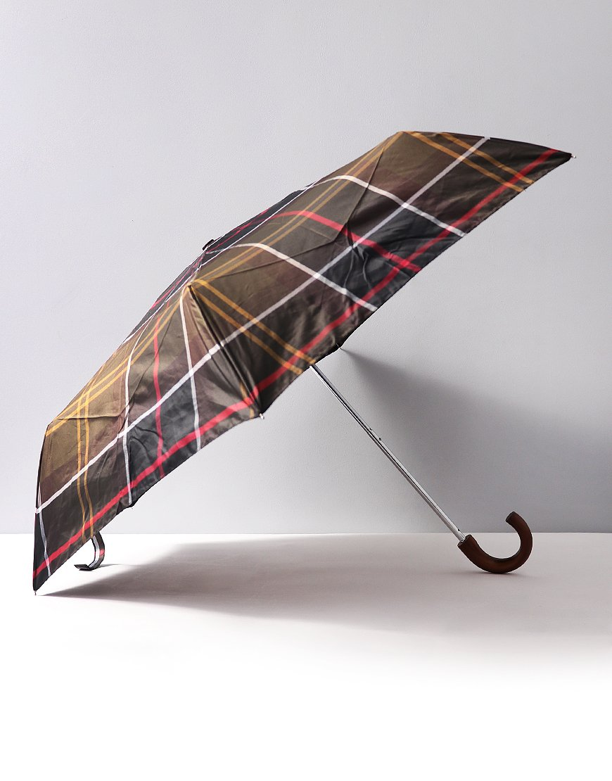 Barbour Mini Umbrella  Classic Tartan