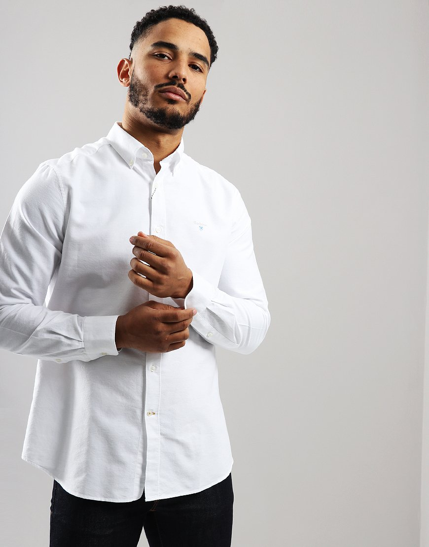 Barbour Oxford 3 Long Sleeve Shirt White