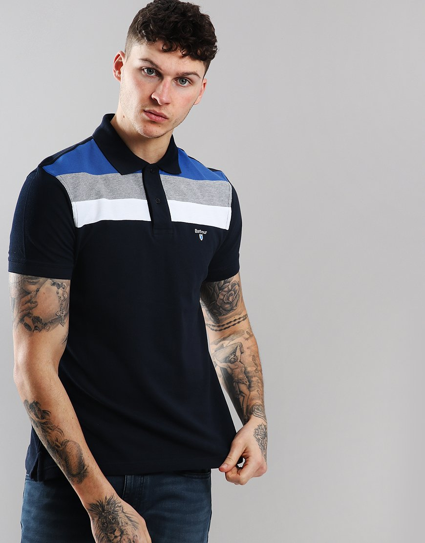Barbour Shaldon Polo Shirt New Navy