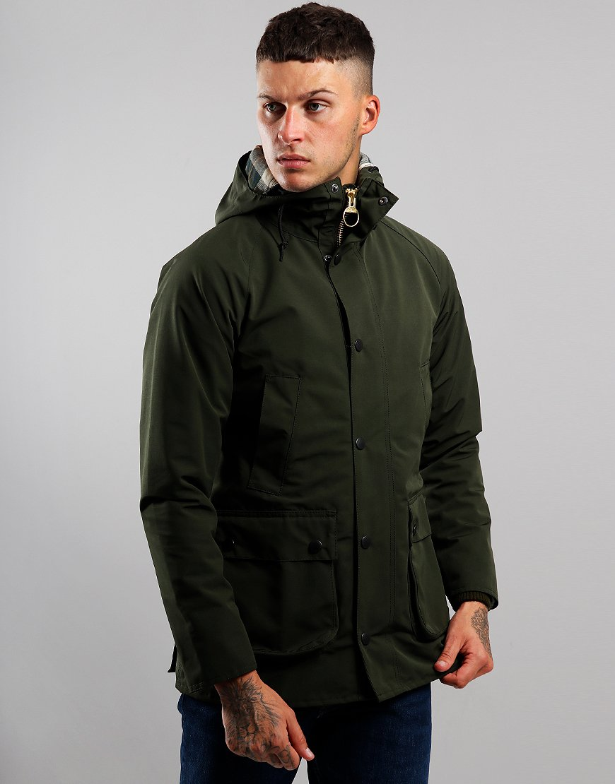 Barbour Bedale Hooded Jacket Sage