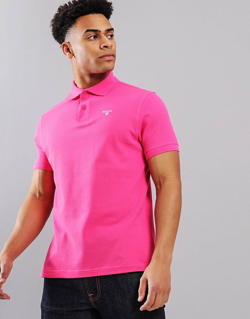 Barbour Sport Polo Shirt Sorbet