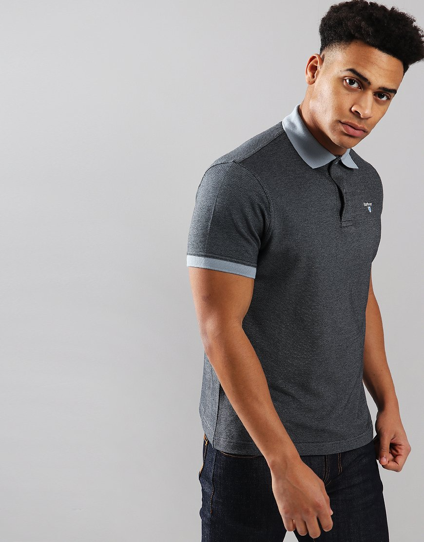Barbour Sports Mix Polo Shirt Flint