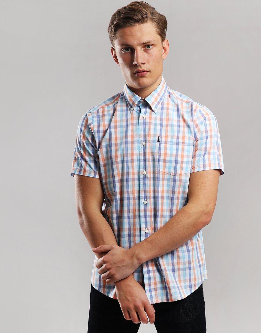 Barbour Tattersall 2 Shirt Orange