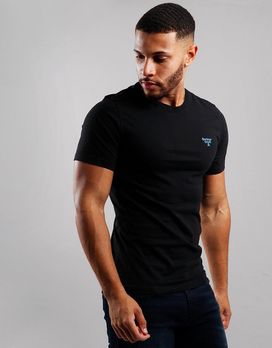 Barbour Beacon Logo T-Shirt Black