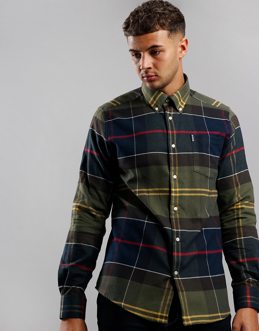 54882037d78ba Barbour Tartan 3 Long Sleeve Shirt Classic Tartan