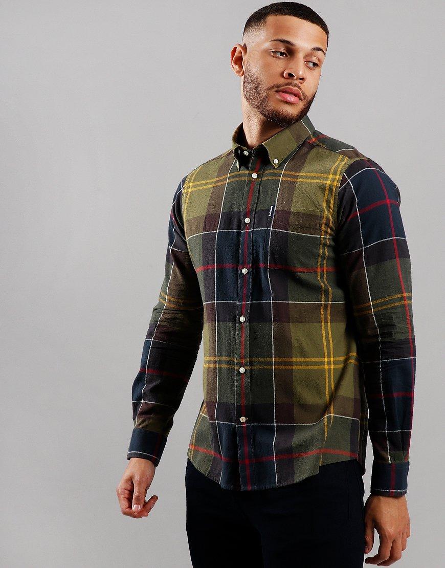 Barbour Tartan 5 Long Sleeve Shirt Classic Tartan