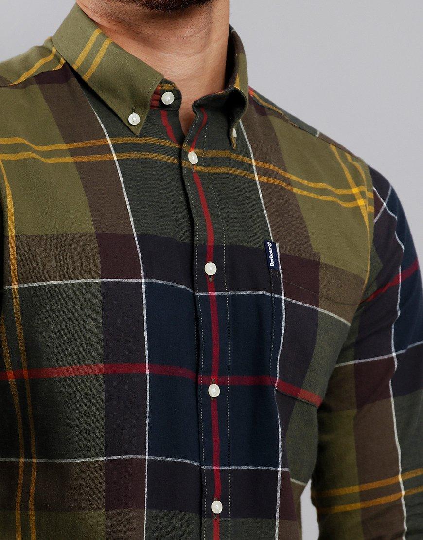 a50deddc03821 Barbour Tartan 5 Long Sleeve Shirt Classic Tartan