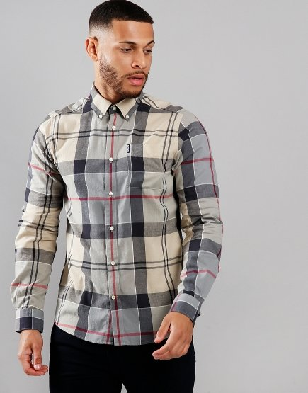 Barbour Tartan 5 Long Sleeve Shirt Dress Tartan