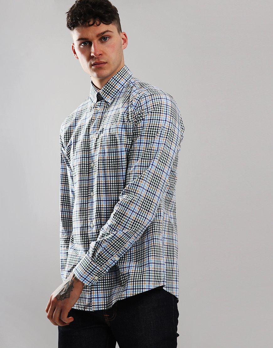 Barbour Tattersal 3 Long Sleeve Shirt Forest
