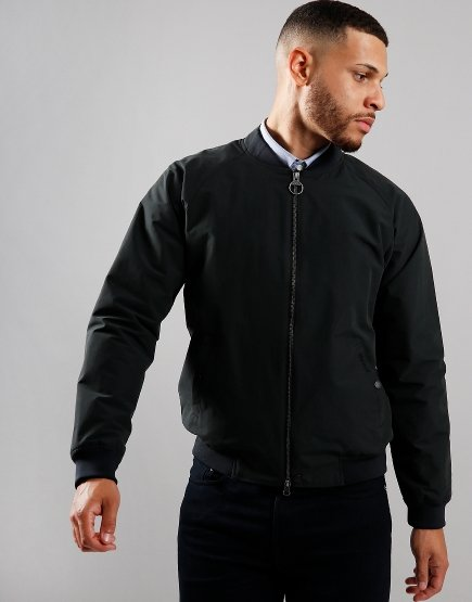 Barbour Torksey Casual Blouson Jacket Black