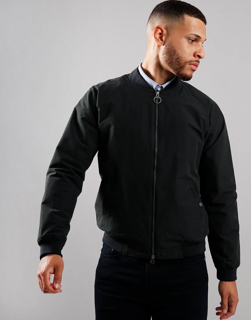 Barbour Torksey Casual Blouson Jacket Black