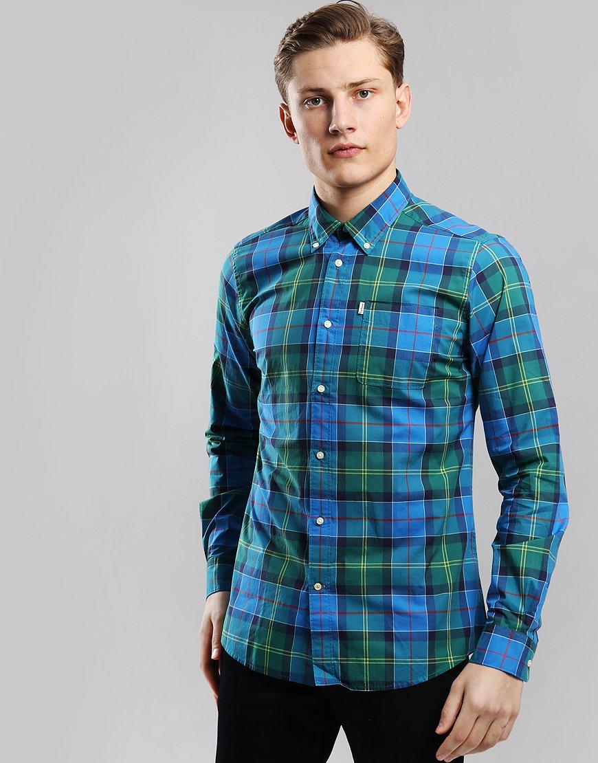 Barbour Toward Shirt  Blue