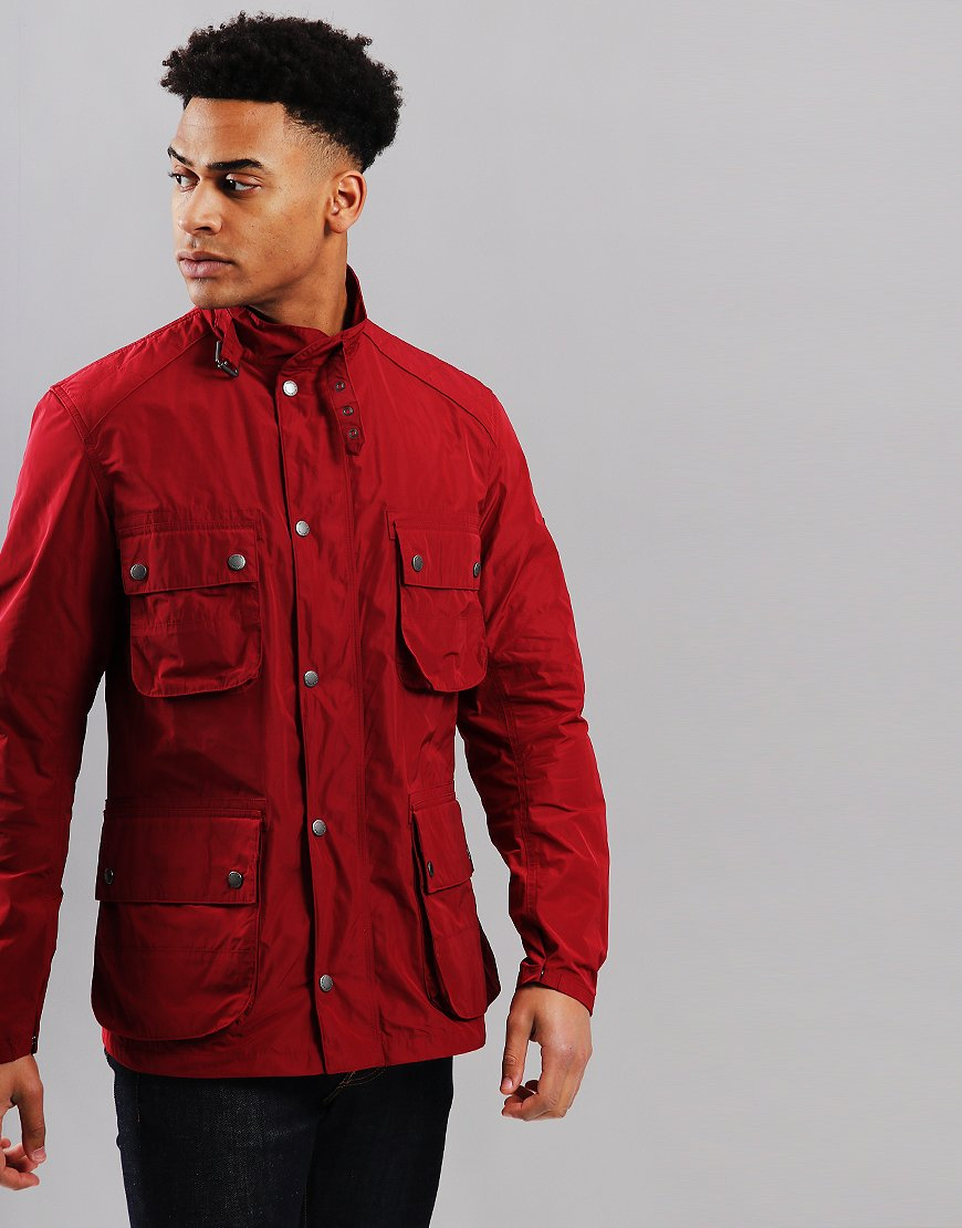 Barbour International Weir Jacket Biking Red