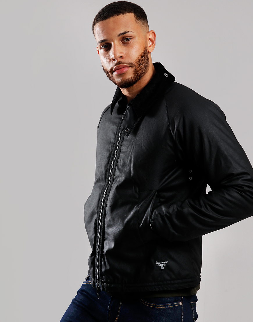Barbour Beacon Winter Munro Wax Jacket Black