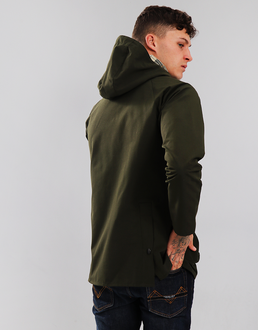 Barbour Bedale Casual Hooded Jacket Sage