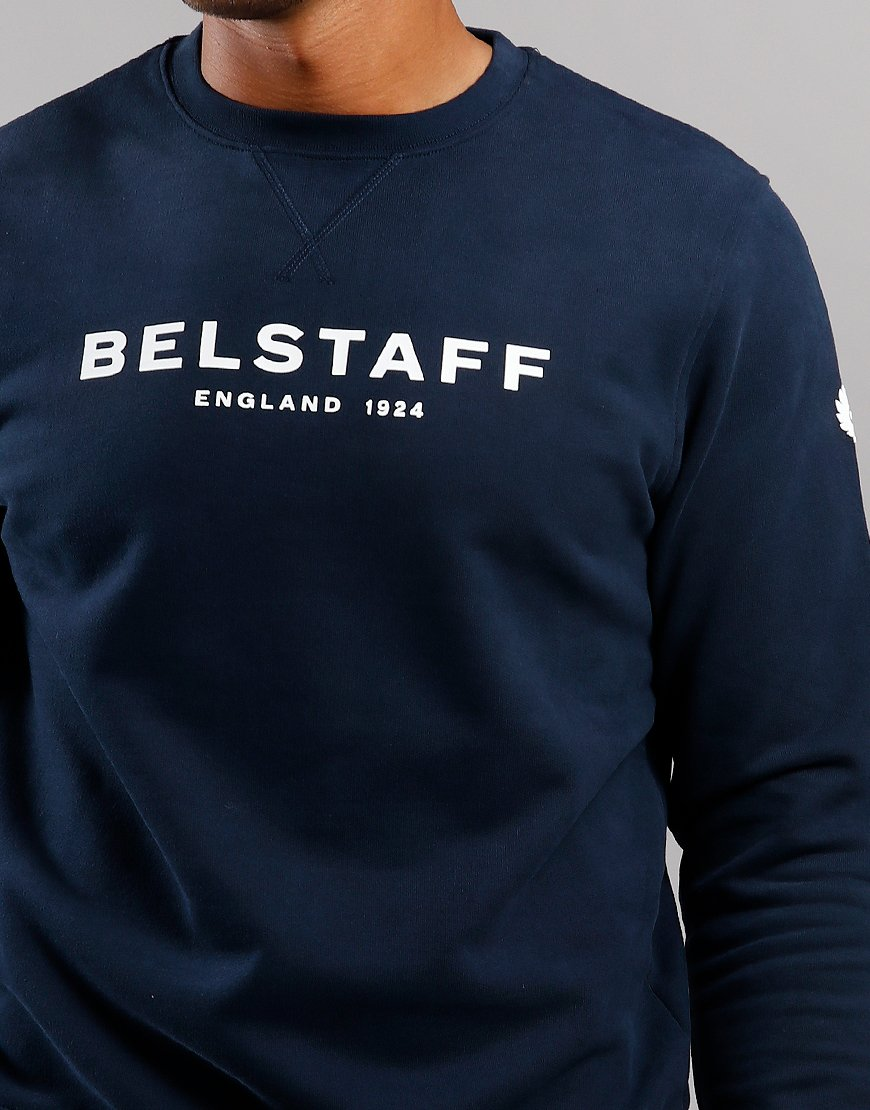 Belstaff 1924 Crew Sweat Navy