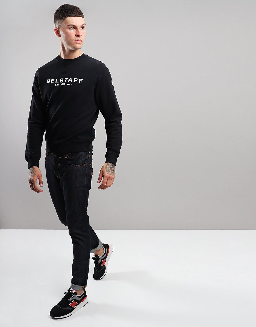 Belstaff 1924 Crew Sweat Black