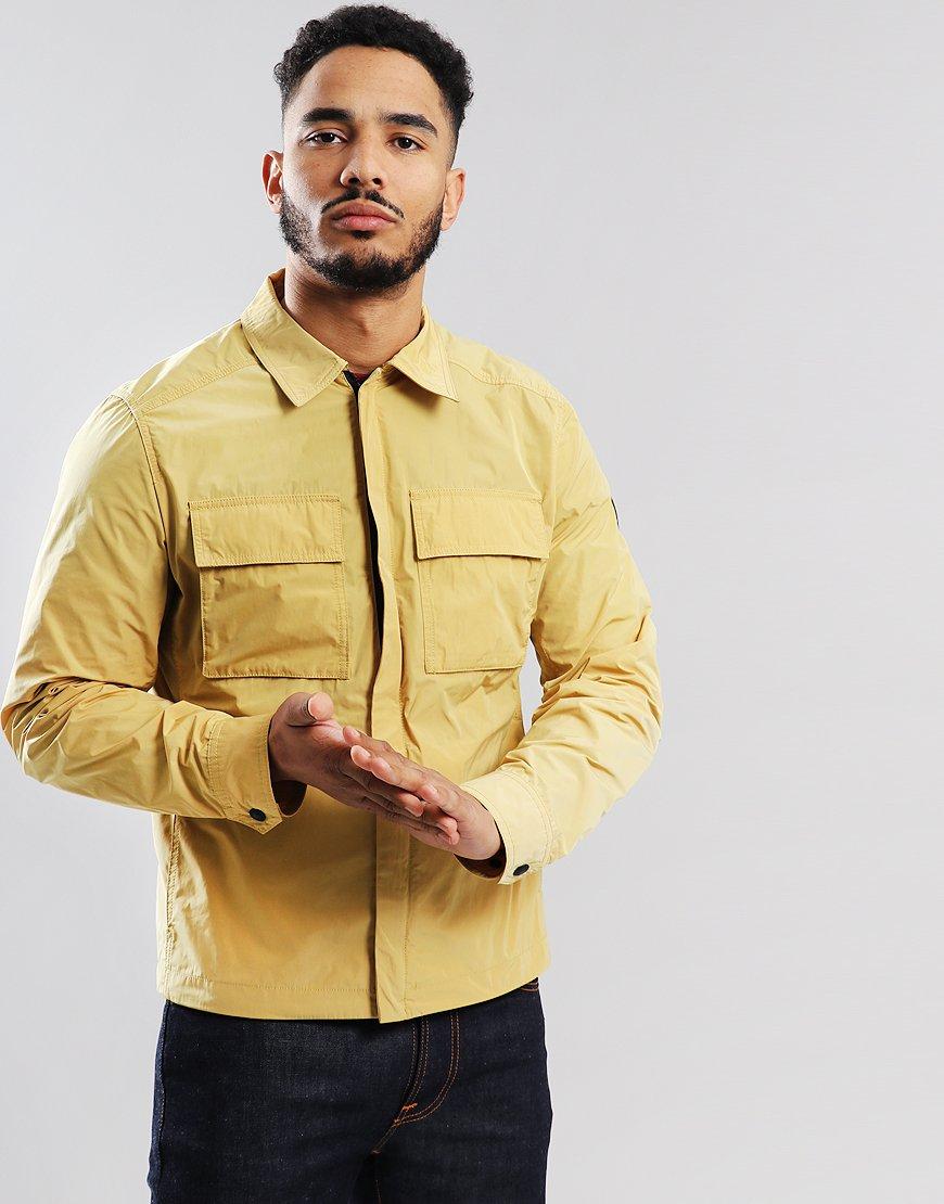 Belstaff Ollerton Lightweight Overshirt Cadmium Yellow