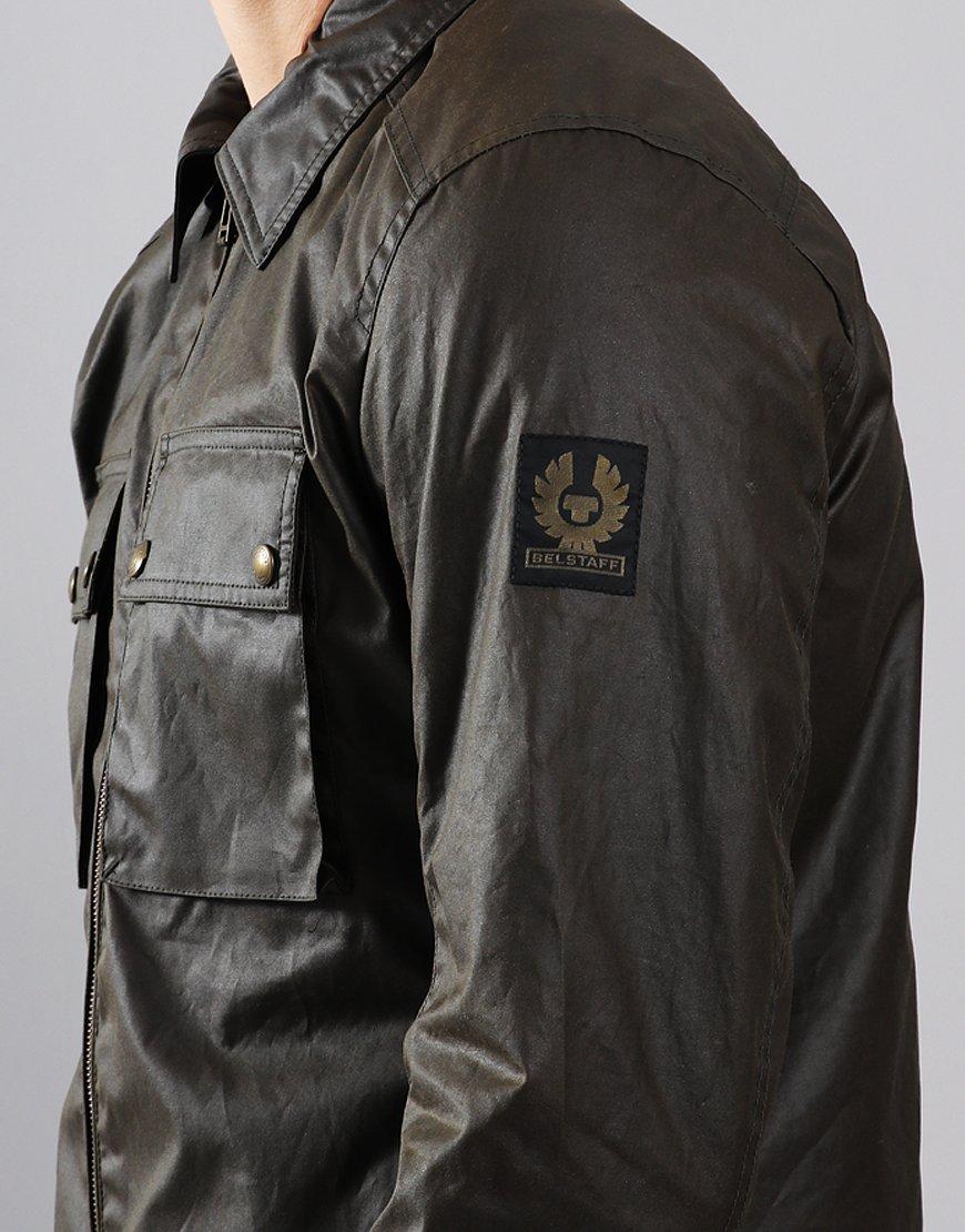 Belstaff Dunstall Waxed Jacket Faded Olive