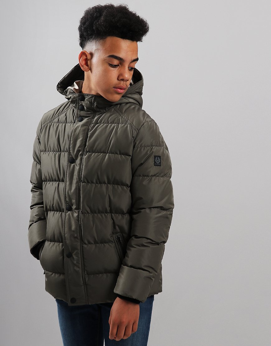 Belstaff Kids Singer Jacket Green