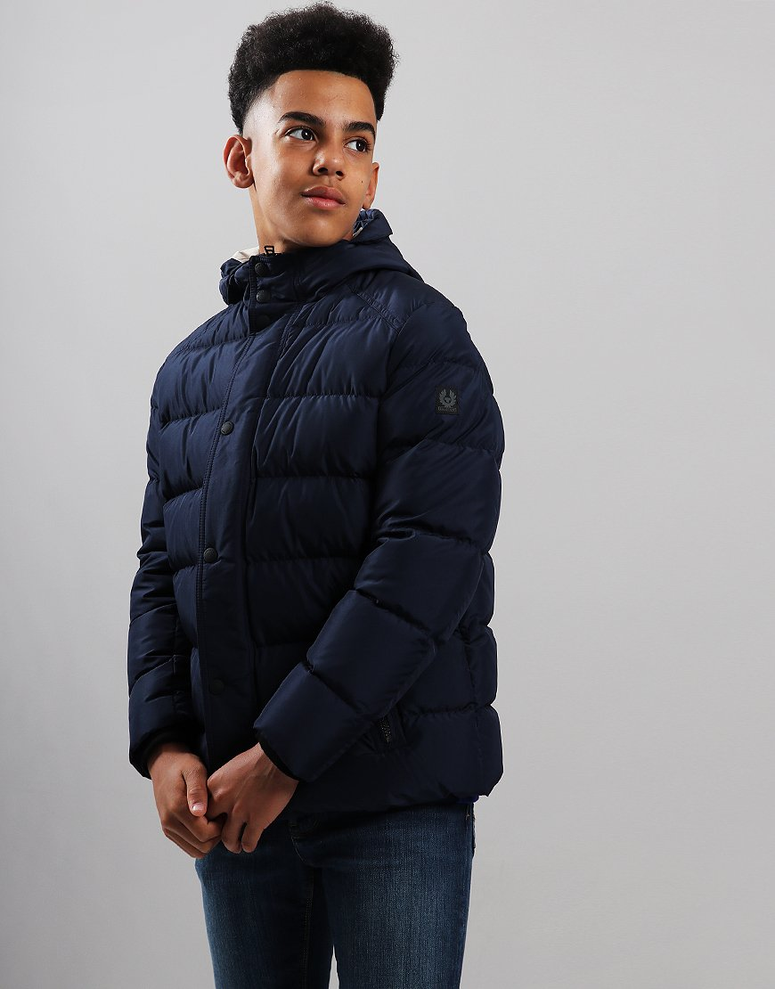 Belstaff Kids Singer Jacket Navy