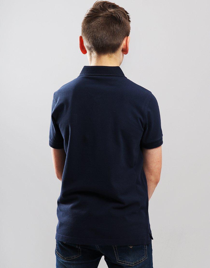 Belstaff Kids Stannet Polo Shirt Navy