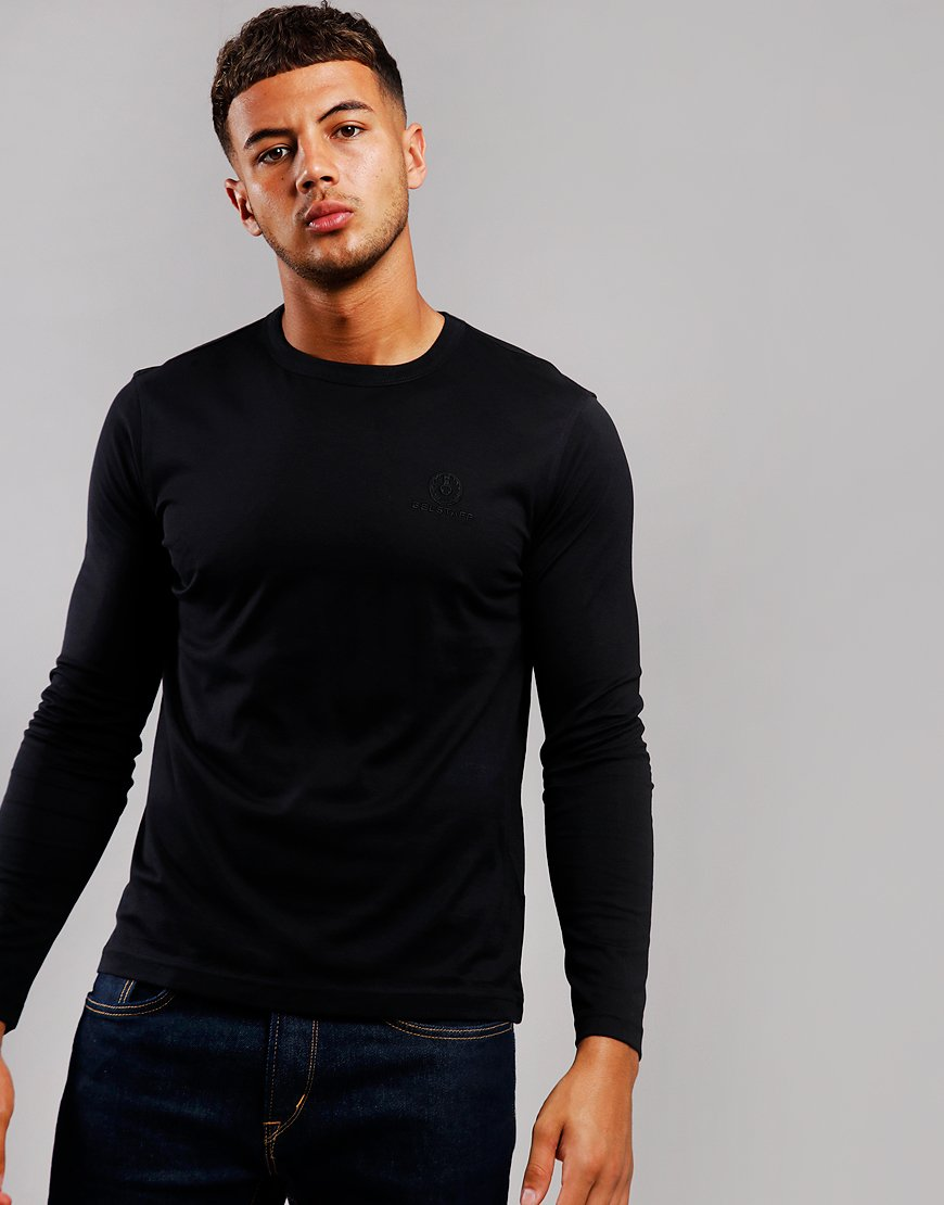 Belstaff Long Sleeve T-Shirt Black