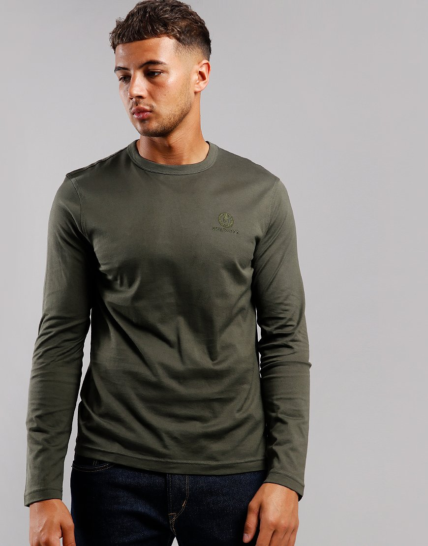 Belstaff Long Sleeve T-Shirt Dark Pine