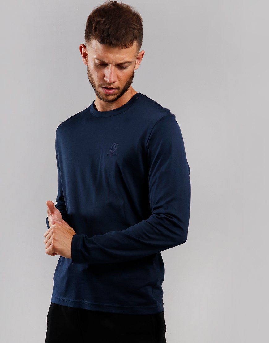 Belstaff Long Sleeve T-Shirt Navy