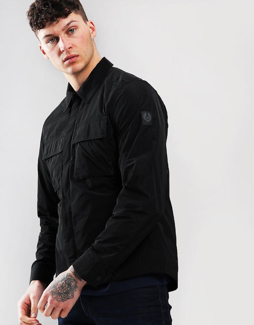 Belstaff Ollerton Lightweight Overshirt Black