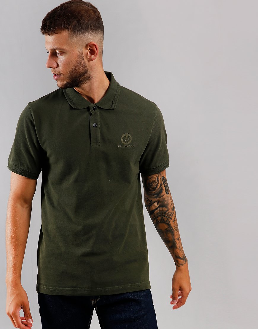 Belstaff Polo Shirt  Dark Pine