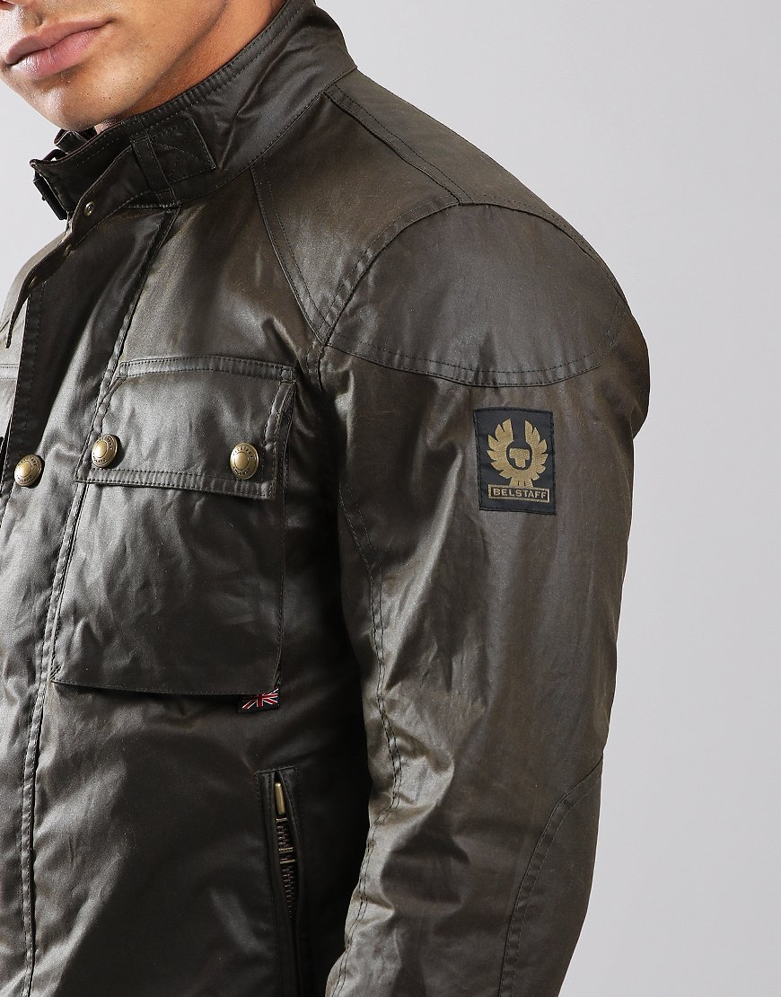 Belstaff Racemaster Jacket Faded Olive