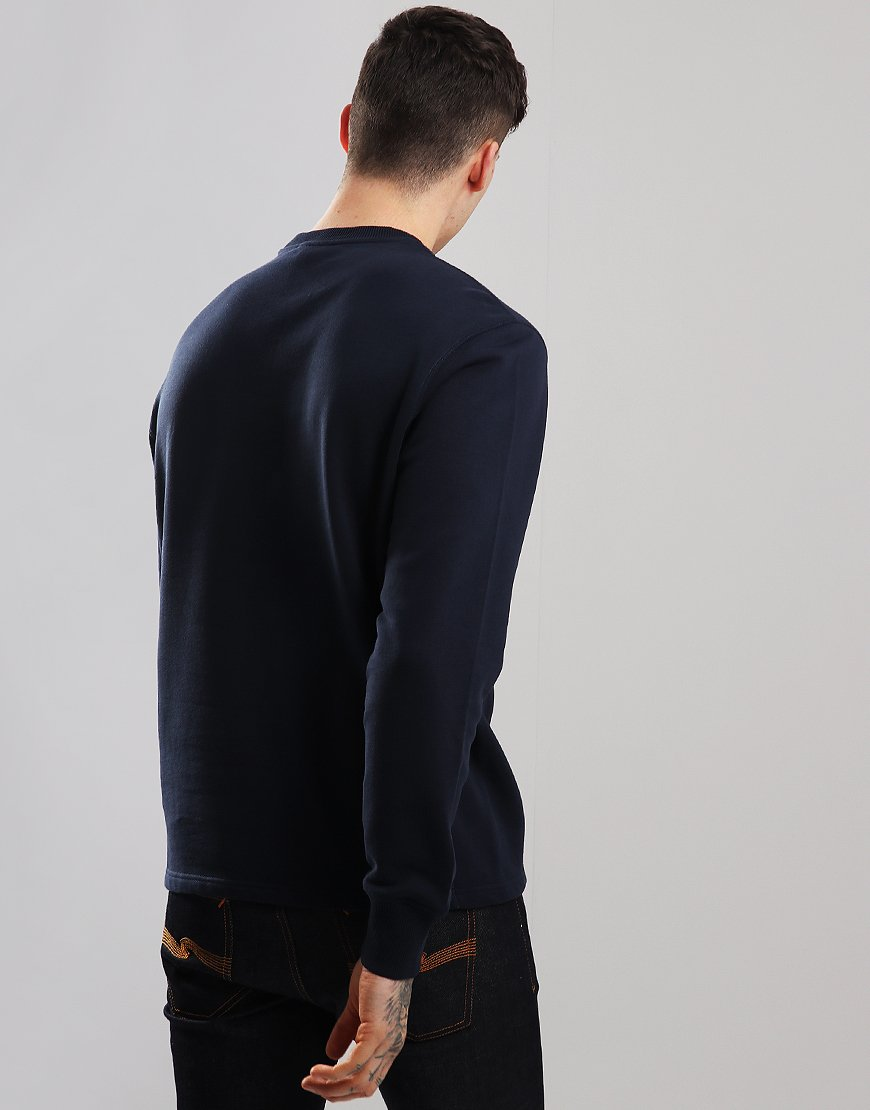 Belstaff Reydon Crew Neck Sweat Deep Navy