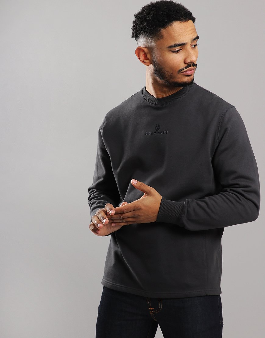 Belstaff Reydon Crew Neck Sweat Dark Shale