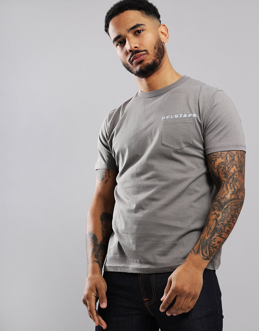 Belstaff Spray Phoenix T-Shirt Amherst Grey