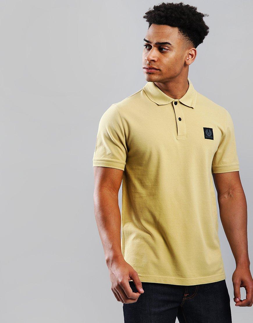 Belstaff Stannett Polo Shirt Flax