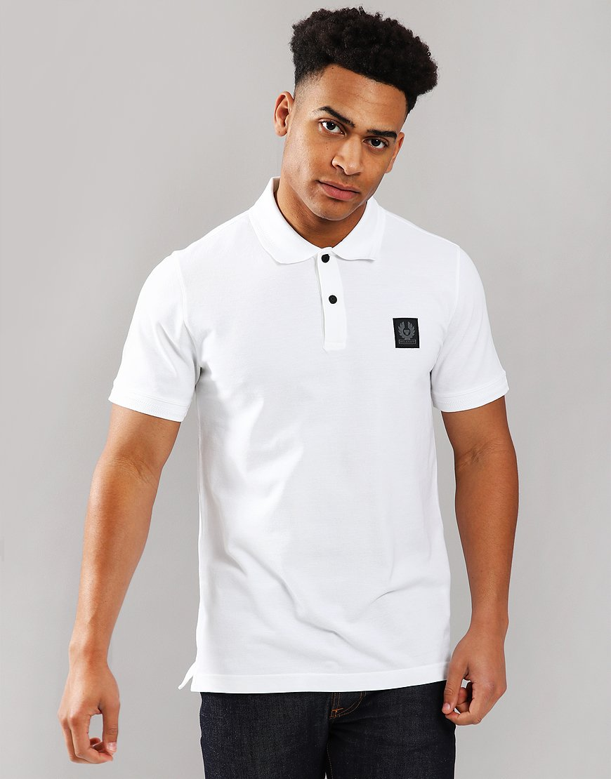 Belstaff Stannett Polo Shirt White