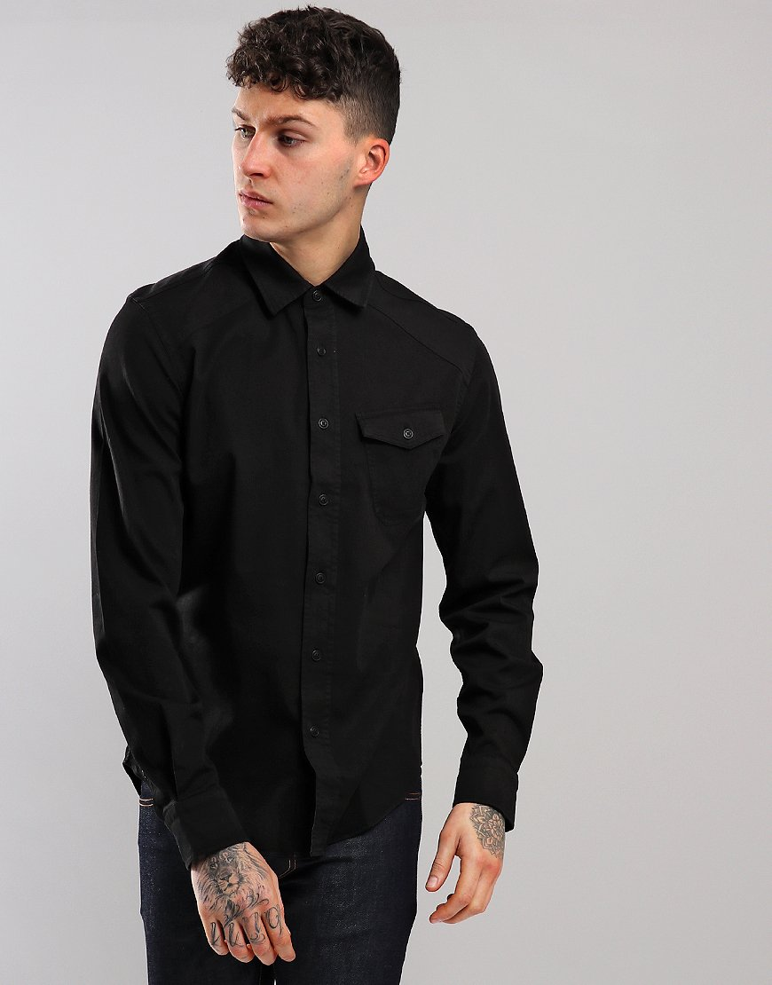 Belstaff Steadway Shirt Black