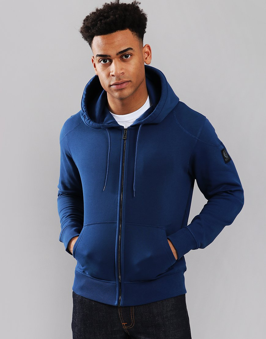 Belstaff Wentworth Hooded Sweat Lagoon