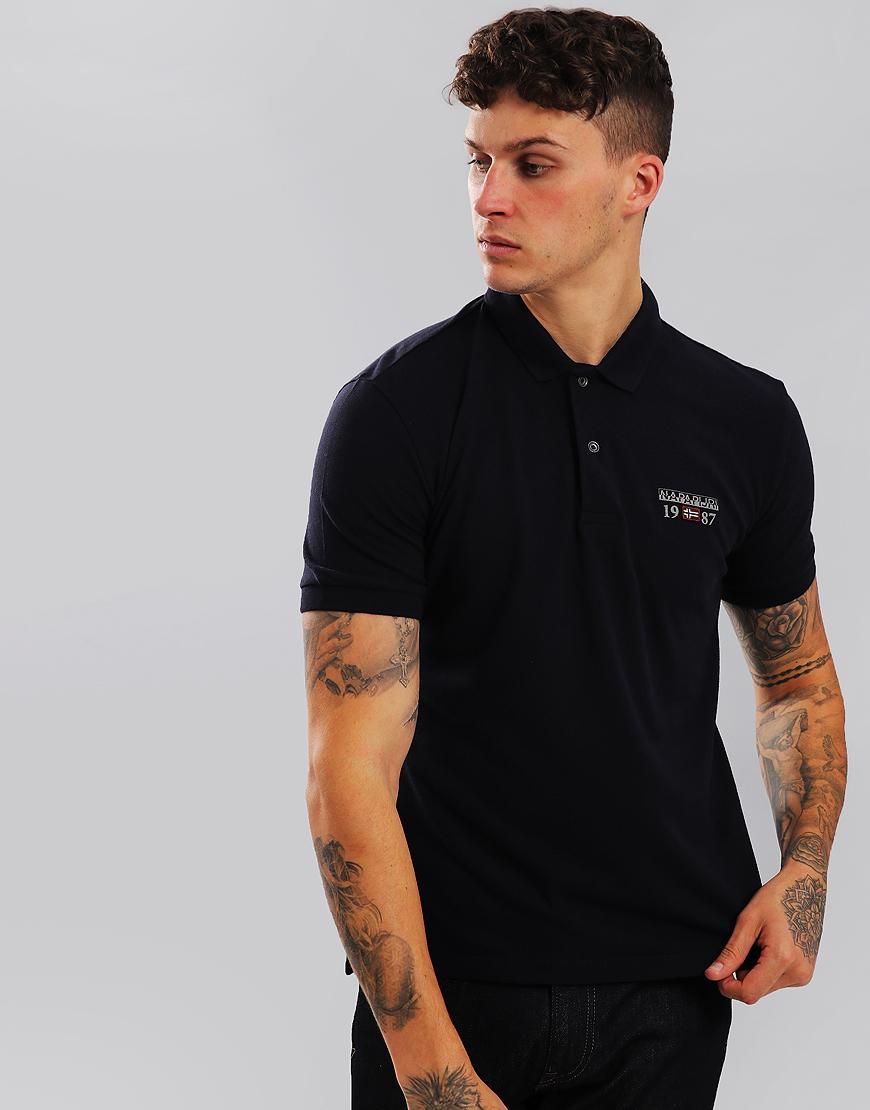 Napapijri Erthow Polo Shirt Blu Marine