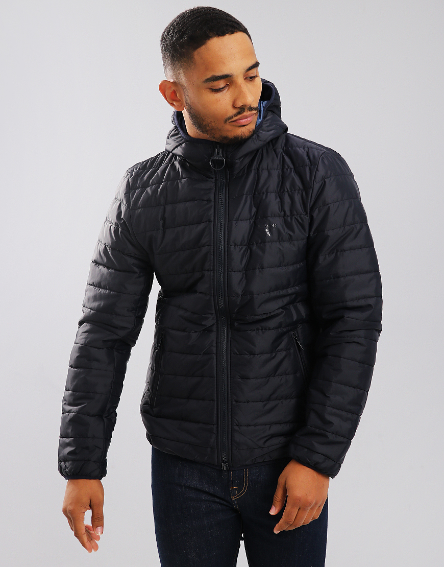 Barbour Beacon Birkhouse Quilted Jacket Navy